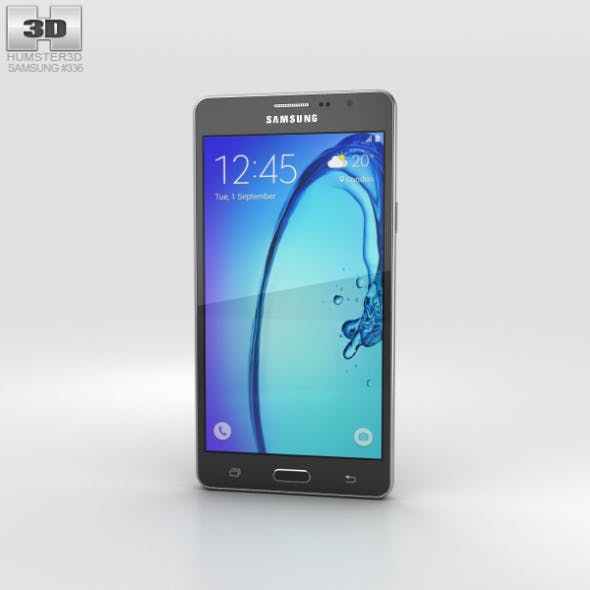 Samsung Galaxy On5 Black - 3DOcean Item for Sale