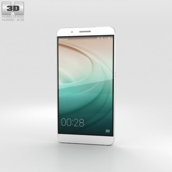 Huawei Honor 7i White - 3DOcean Item for Sale