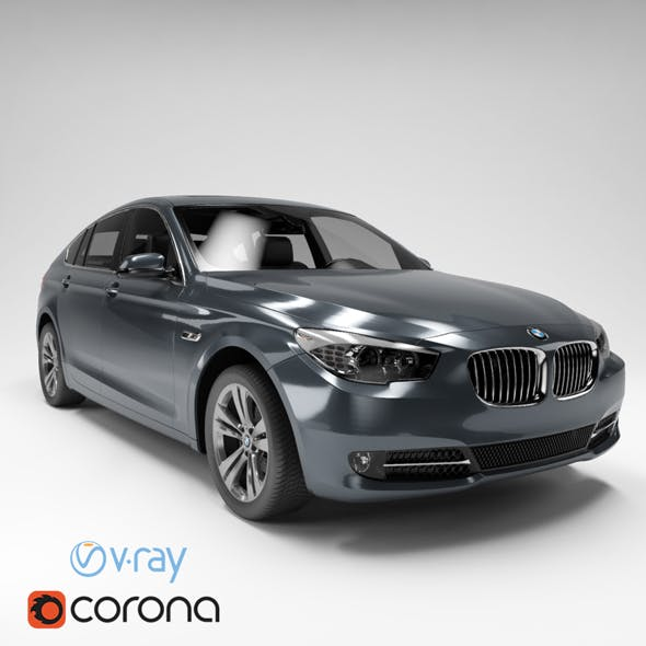 BMW 5 Series (6 Colors) - 3DOcean Item for Sale
