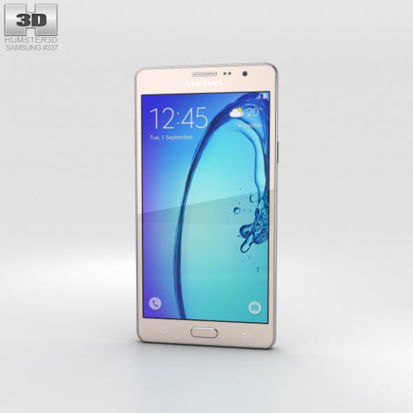 Samsung Galaxy On7 Gold - 3DOcean Item for Sale