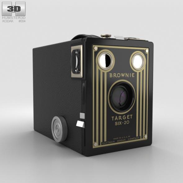 Kodak Brownie Target Six-20 - 3DOcean Item for Sale