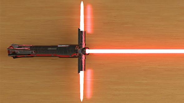 Kylo Ren Lightsaber - 3DOcean Item for Sale