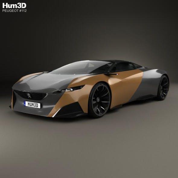 Peugeot Onyx 2012 - 3DOcean Item for Sale