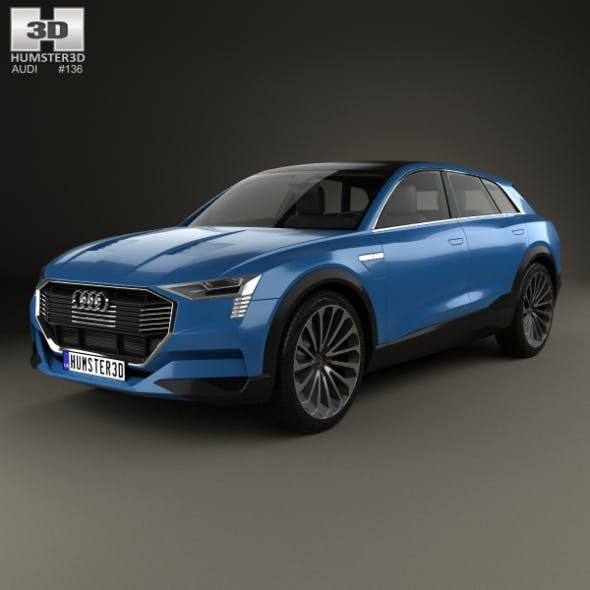 Audi E-tron Quattro 2015 - 3DOcean Item for Sale