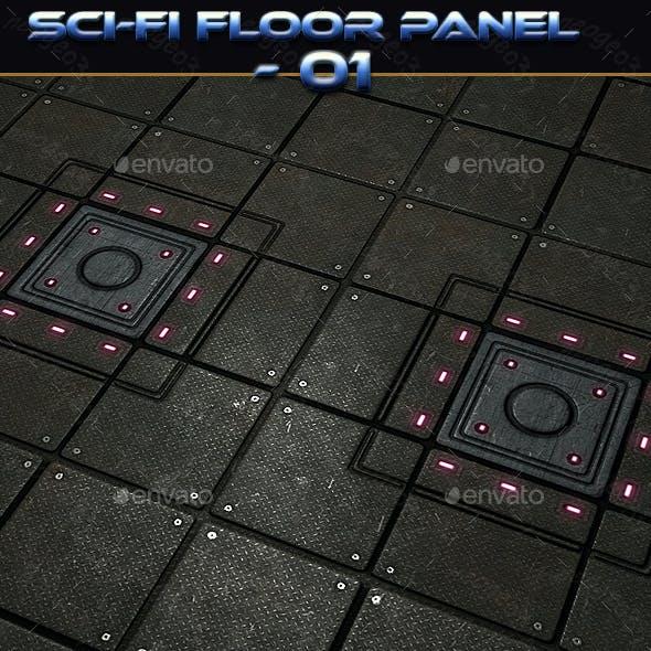Sci-fi Floor Panel 01