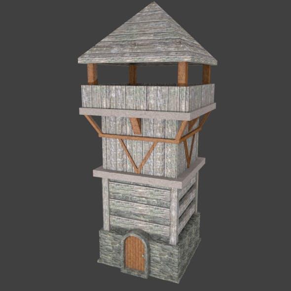 Medieval Tower - 3DOcean Item for Sale