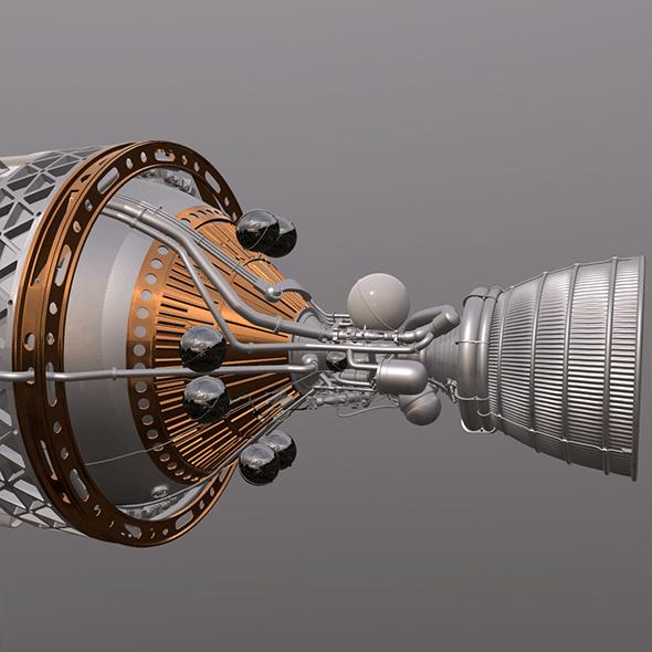 Rocket Engine J2A