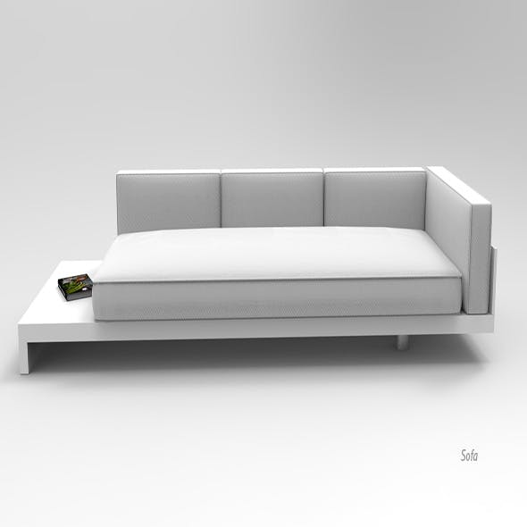 Sofa. - 3DOcean Item for Sale