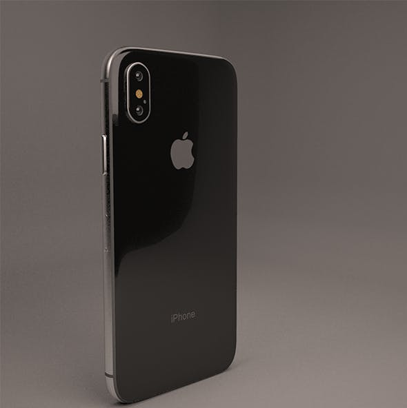 Apple iPhone X (iPhone10) - 3DOcean Item for Sale