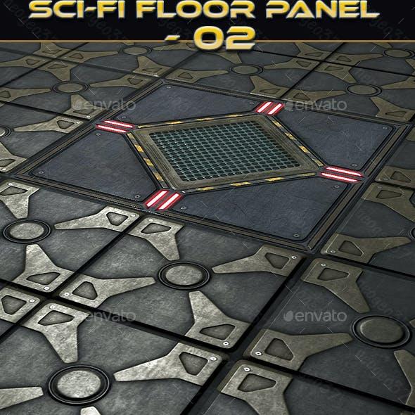 Sci-fi Floor Panel 02