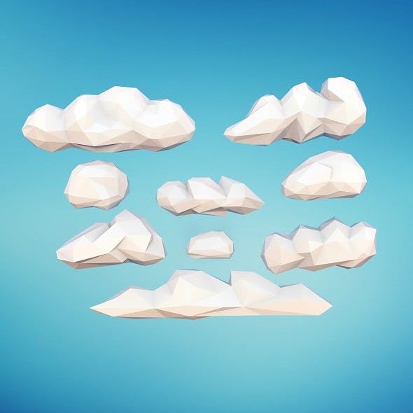 Low Poly Clouds