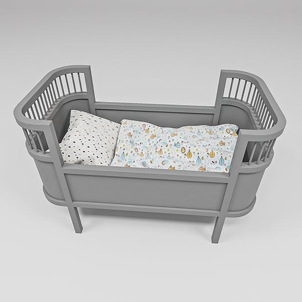Rosaline Doll bed