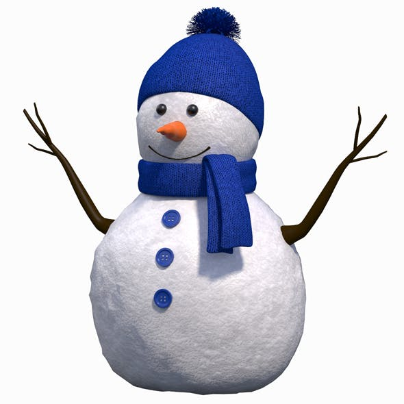 Cute Snow Man