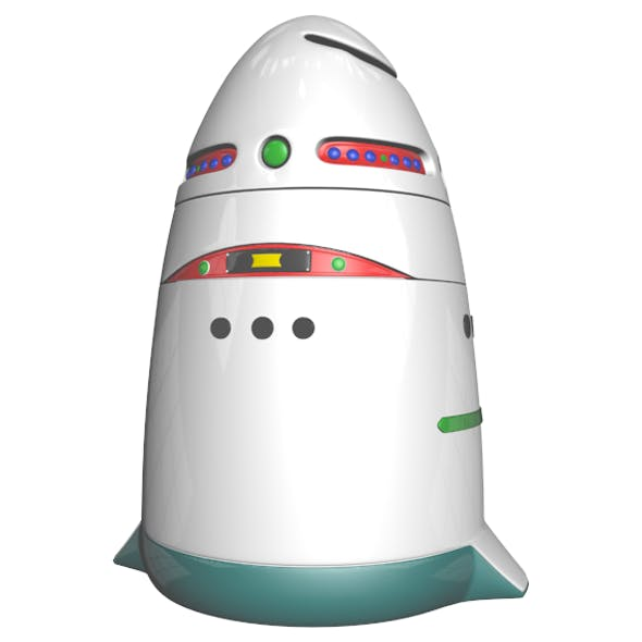 Security Robot - 3DOcean Item for Sale