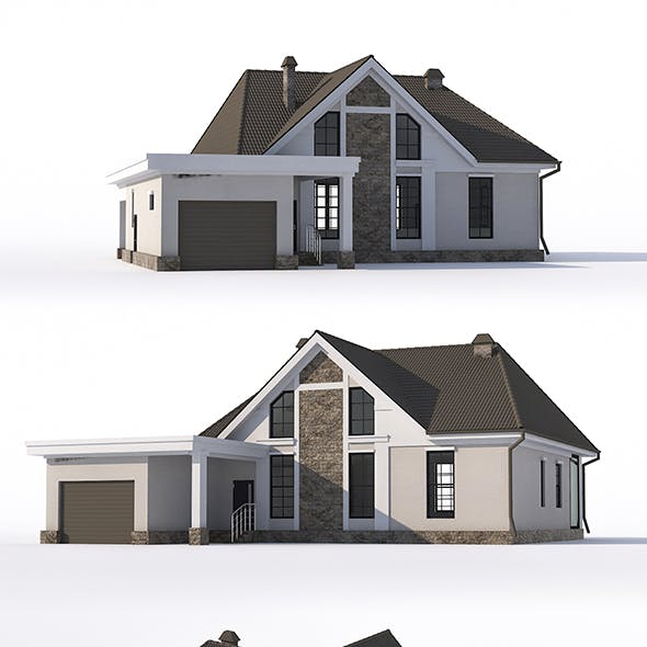 House with attic