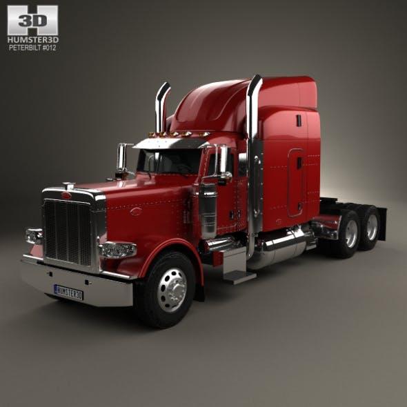 Peterbilt 389 Tractor Truck 2007 - 3DOcean Item for Sale