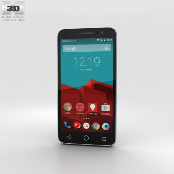 Vodafone Smart Prime 6 Gray - 3DOcean Item for Sale