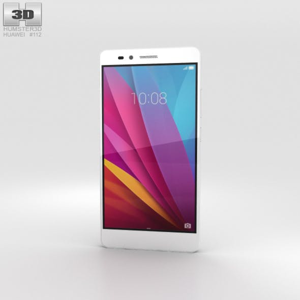 Huawei Honor 5X Silver - 3DOcean Item for Sale