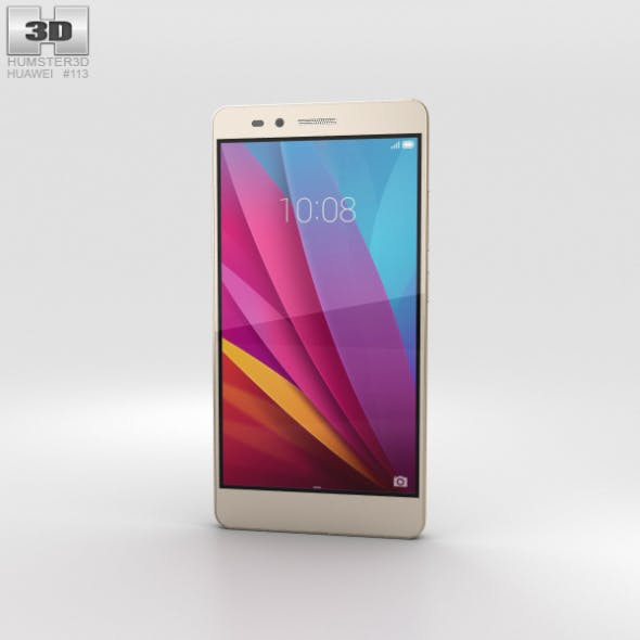 Huawei Honor 5X Gold - 3DOcean Item for Sale