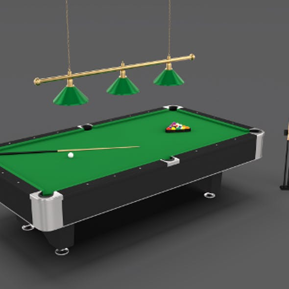 8 Ball Pool Table Setting