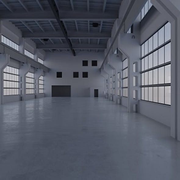 Factory Hall Interior 3