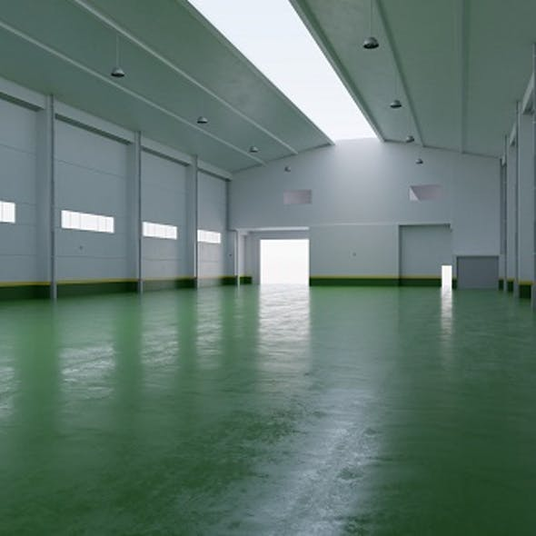 Factory Hall Interior 4