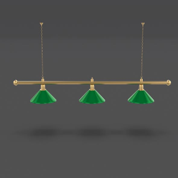 Pool Table Light Fixture