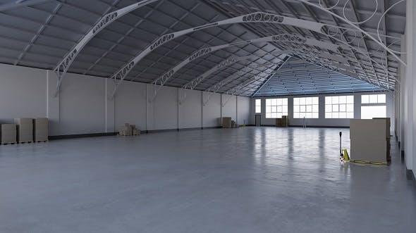 Warehouse Interior 7 - 3DOcean Item for Sale