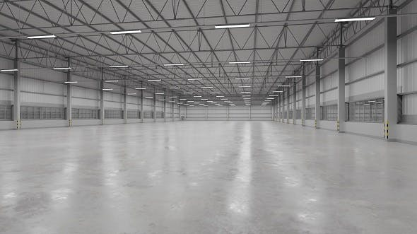 Warehouse Interior 9 - 3DOcean Item for Sale