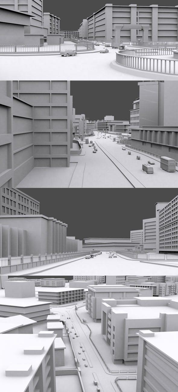 Big City Vol 4 - 3DOcean Item for Sale