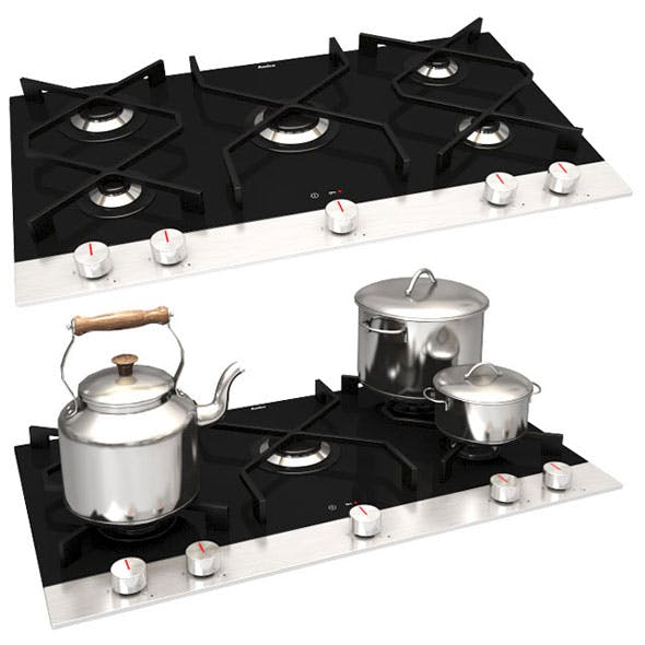 Amica Integra PG9611SRB IN Cooking Hob - 3DOcean Item for Sale