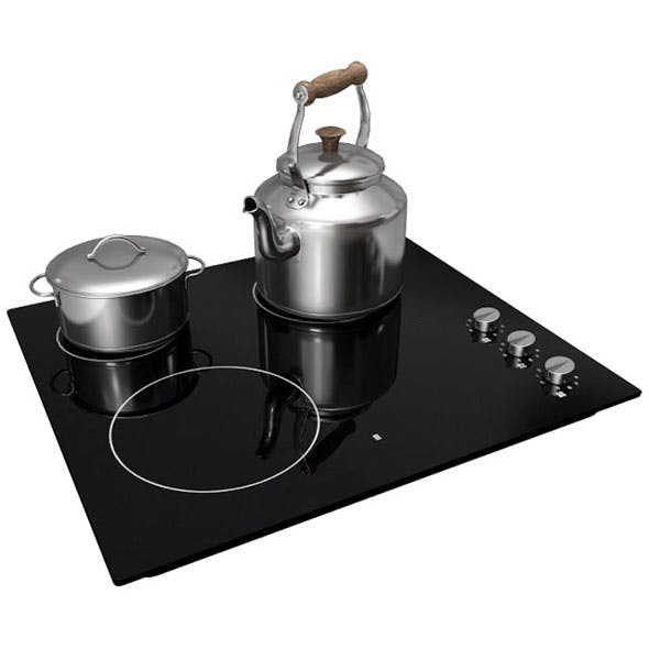 Ikea Lagan Cooking Hob - 3DOcean Item for Sale
