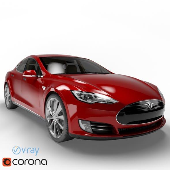 Tesla Model S (6 Colors) - 3DOcean Item for Sale