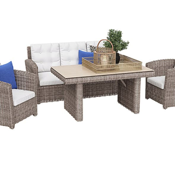 Outdoor furniture set 03