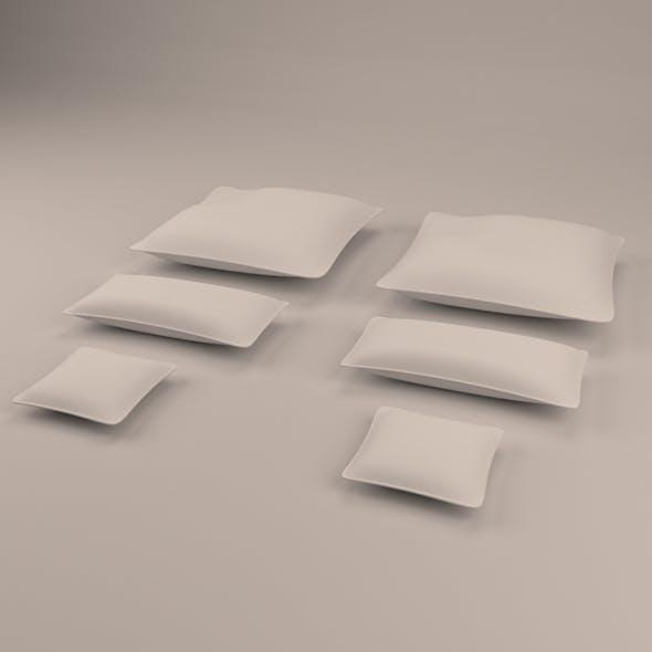 Pillow set - 3DOcean Item for Sale