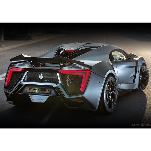 Lykan Hypersport 3d model - 3DOcean Item for Sale