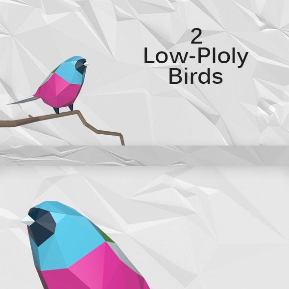 Low-Poly Birds
