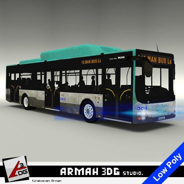 MAN Lion's City Bus - 3DOcean Item for Sale