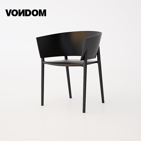 Vondom Africa Chair - 3DOcean Item for Sale