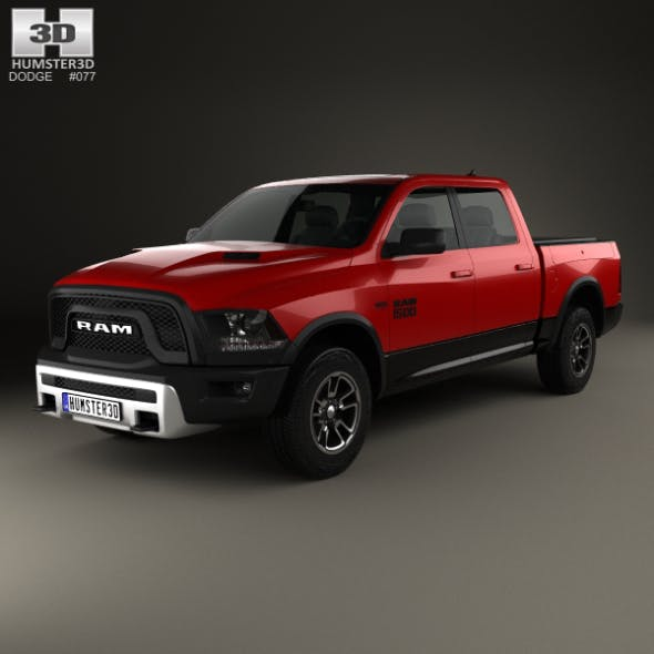 Dodge Ram 1500 Rebel 2015 - 3DOcean Item for Sale