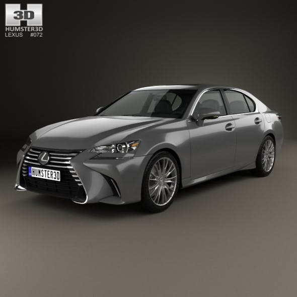 Lexus GS 2015 - 3DOcean Item for Sale
