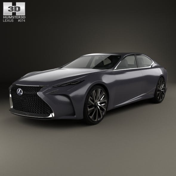 Lexus LF-FC 2015 - 3DOcean Item for Sale
