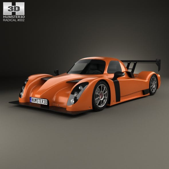 Radical RXC 2013 - 3DOcean Item for Sale