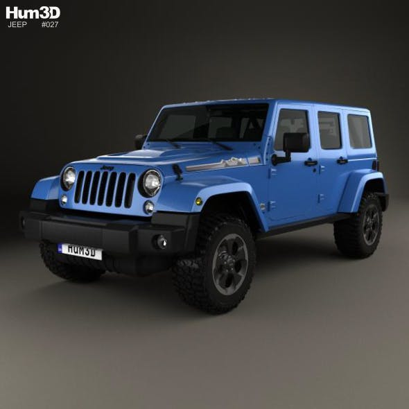 Jeep Wrangler Unlimited Polar Edition 2014 - 3DOcean Item for Sale