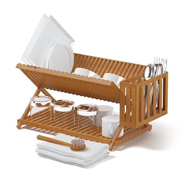 Dish Dryer 3D Model - 3DOcean Item for Sale