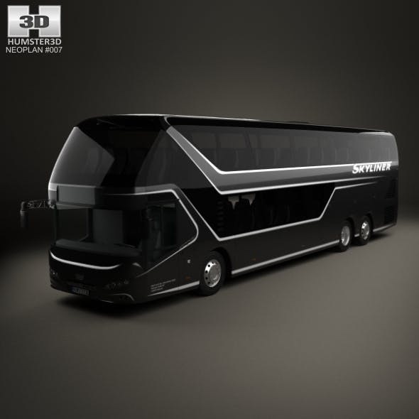 Neoplan Skyliner Bus 2015 - 3DOcean Item for Sale