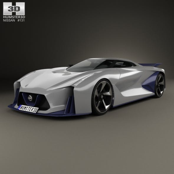 Nissan 2020 Vision Gran Turismo 2014 - 3DOcean Item for Sale