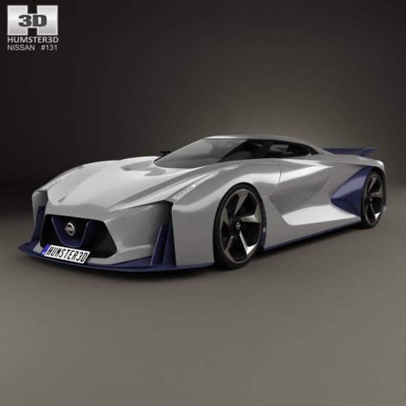 Nissan 2020 Vision Gran Turismo 2014