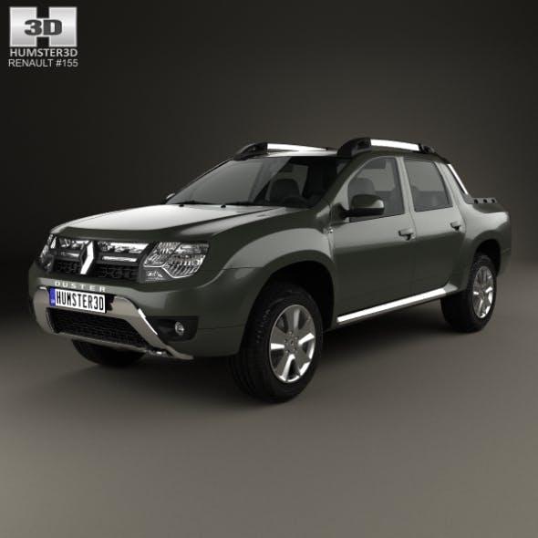 Renault Duster Oroch 2015 - 3DOcean Item for Sale