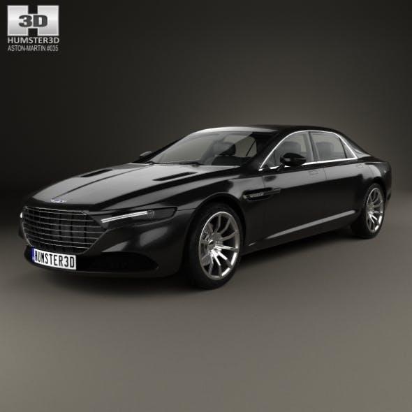 Aston Martin Lagonda 2014 - 3DOcean Item for Sale